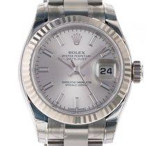 Rolex Datejust Lady Stahl Weißgold Automatik Oyster Armband...