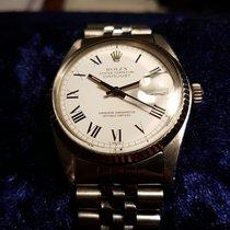Rolex Datejust Buckley White Roman Dial