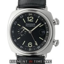 Panerai Radiomir Collection Radiomir GMT Steel Black Dial JLC...