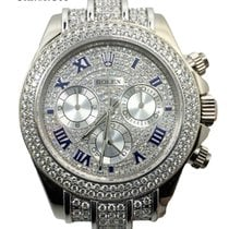 롤렉스 (Rolex) Cosmograph Daytona 116519 White Gold Full Diamonds