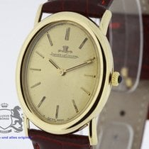 Jaeger-LeCoultre Oval solid 18 Karat Yellow Gold Cal. 818/2...