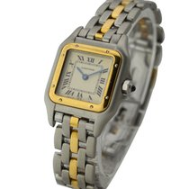 Cartier 187949 Panther - Small Size in Steel and Yellow Gold -...