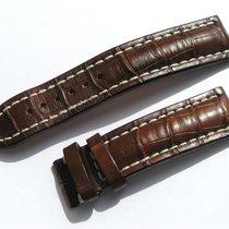 Breitling Croco Armband 22/20mm Braun Neupreis Über 550,00 Euro