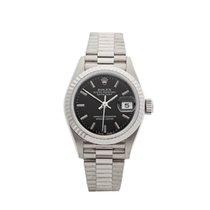 Rolex Datejust 18k White Gold Ladies 69179 - W4087
