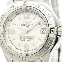 Breitling Polished Breitling Colt Oceane Steel Quartz Ladies...