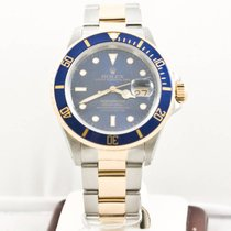 Rolex Submariner Date 16613 Blue Face Box & Booklets...