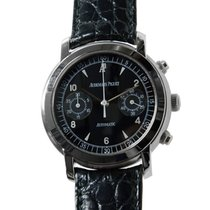 Audemars Piguet Jules Audemars Stainless Steel Black Automatic...