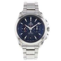 Omega Seamaster Aqua Terra GMT chronograph 43mm blue dial