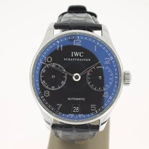 IWC Portuguese Automatic 7Days BlackDial (B&P2008) 42mm MINT
