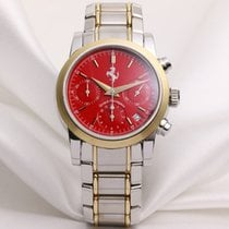 Girard Perregaux Ferrari Chronograph Red Dial Steel & 18k...