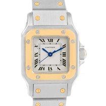 Cartier Santos Galbee Ladies Steel Yellow Gold Automatic Watch
