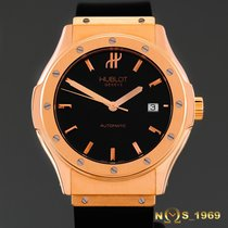Hublot Classic Fusion 18K Rose Gold  42mm Box Pap