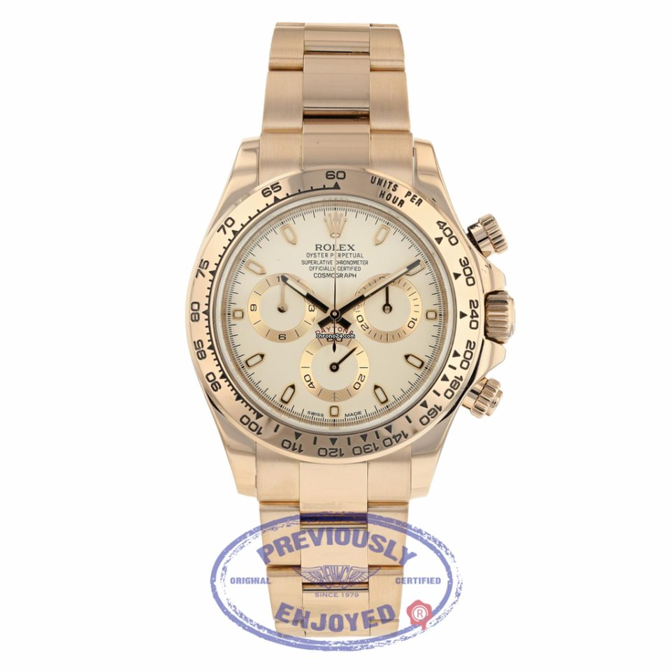 Rolex Daytona Everose White Dial For Rp 384 612 032 For Sale From A