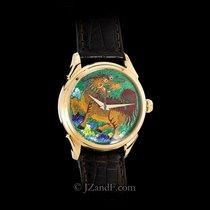 """Beijing Watch Factory """"Atelier Series"""" Cloisonne Enamel 18K..."""