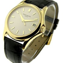 Patek Philippe 5127J 5127 Calatrava in Yellow Gold - Yellow...
