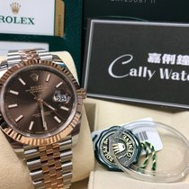 Rolex Cally - 2016 New Model DATEJUST II126331 Brown Stick [NEW]