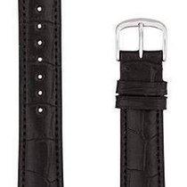 Hamilton Boulton Lederband schwarz 18/16mm H600.134.102