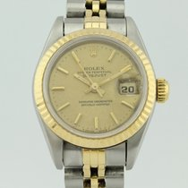 Rolex Oyster Perpetual Datejust Automatic Steel-18k Gold Lady...