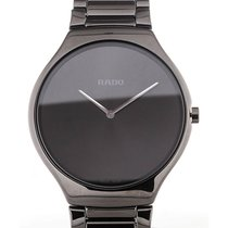 Rado True Thinline 39 Quartz Black Dial