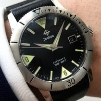 Zodiac Seawolf Diver Watch with rotating bezel Vintage