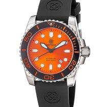 Deep Blue Sea Ram 500 II Diving Watch Swiss Quartz Blk Ceramic...