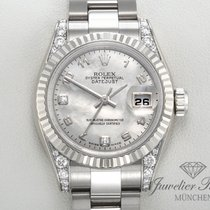 Rolex Datejust 179239 Weissgold 750 Perlmutt Lady Date Just