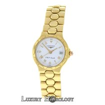 Longines Authentic Ladies Conquest L1.113.6 18K Solid Gold