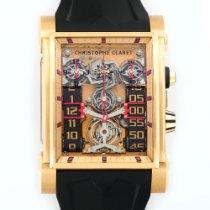 Christophe Claret Rose Gold Dual Tow Tourbillon Watch