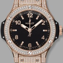 Hublot PAVE' GOLD STRAP BLACK BIG BANG 361PX1280RX1704