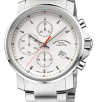 Mühle Glashütte 29er Chronograph Full Steel-White Dial 42,4mm...