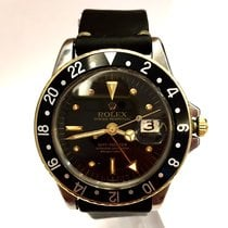 Rolex Oyster Perpetual Gmt-master 18k Gold & Steel...