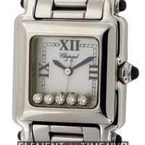 Chopard Happy Sport Classic Square 5 Floating Diamonds