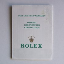 Rolex Libretto / Booklet per Submariner 16613