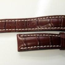 Breitling Alligator brun avec boucle ardillon 24.20
