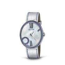 Eberhard & Co. Gilda Florarl con zaffiri blu, quadrante in...