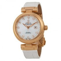 Omega Ladies 42563342055001 DeVille Ladymatic Watch