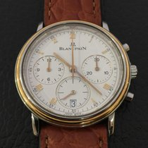 Blancpain Villeret chronograph yellow gold/steel