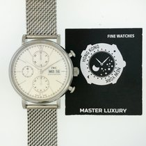 IWC IW391009 Portofino Chronograph Silver Dial SS