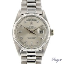 Rolex Day-Date White Gold/ Diamonds