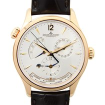 Jaeger-LeCoultre New  Master Ultra Thin 18k Rose Gold Silver...