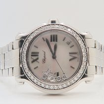 Chopard Happy Sport Mother of Pearl Dial, Aftermarket Setting