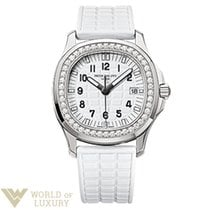 Patek Philippe Aquanaut Stainless Steel Diamonds White Ladies...