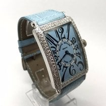 Franck Muller LONG ISLAND 1000 QZ 18K SOLID GOLD DIAMOND BEZEL