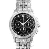 예거 르쿨트르 (Jaeger-LeCoultre) Master Chronograph Black Stainless...