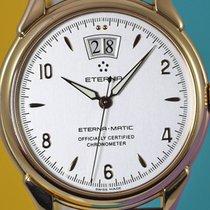 Eterna-Matic 1948 rose gold, grande date, chronometer