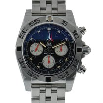 Breitling Chronomat 44 Freece Tricolor Stainless Steel Black...