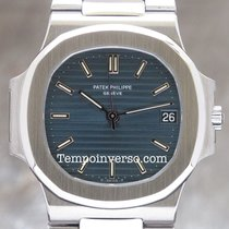 Patek Philippe Nautilus VINTAGE blue dial 38 full PP serviced...
