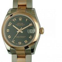 Rolex Datejust Medium Stahl Roségold Everose Armband Oyster...