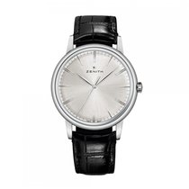 Zenith Elite 6150 Automatic Stainless Steel Silver Dial Mens...
