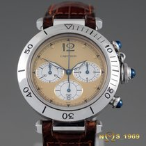 Cartier Pasha Chronograph   38 mm S.steel